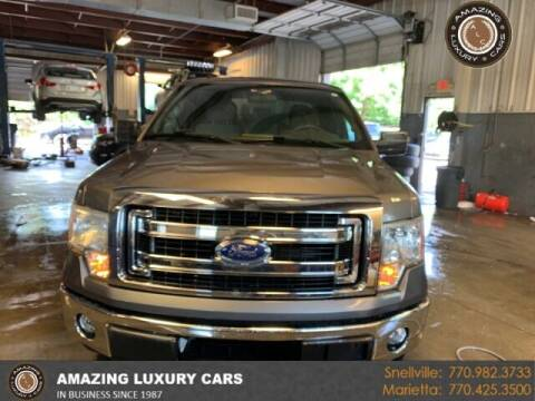 2014 Ford F-150 for sale at Amazing Luxury Cars in Snellville GA