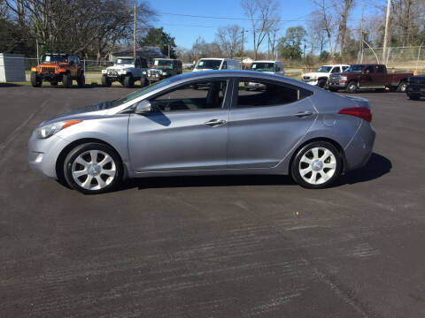 2013 Hyundai Elantra for sale at Beckham's Used Cars in Milledgeville GA