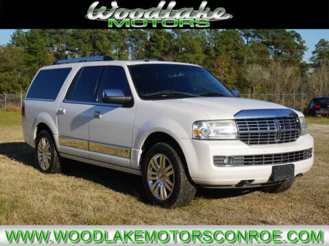 2012 Lincoln Navigator L for sale at WOODLAKE MOTORS in Conroe TX