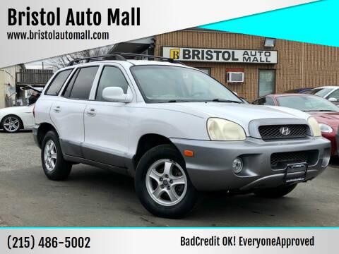 2003 Hyundai Santa Fe for sale at Bristol Auto Mall in Levittown PA