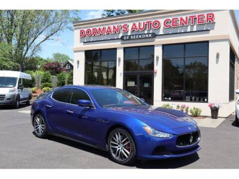 2014 Maserati Ghibli for sale at DORMANS AUTO CENTER OF SEEKONK in Seekonk MA