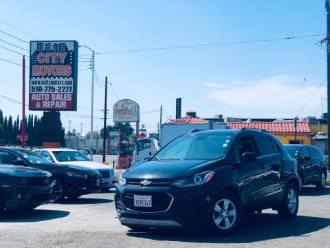 2017 Chevrolet Trax for sale at City Motors in Hayward CA
