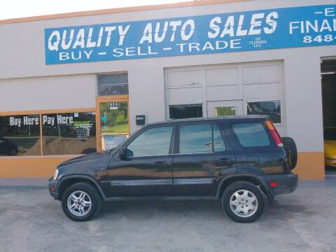 1998 Honda CR-V for sale at QUALITY AUTO SALES OF FLORIDA in New Port Richey FL