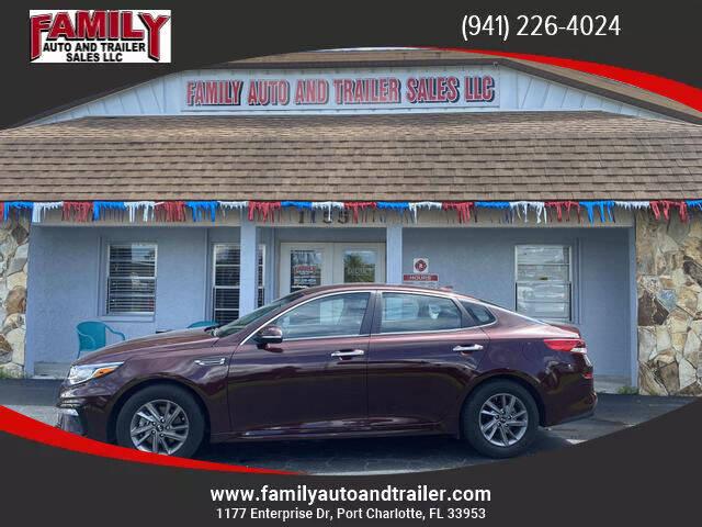 2020 Kia Optima for sale at Family Auto and Trailer Sales LLC in Port Charlotte FL