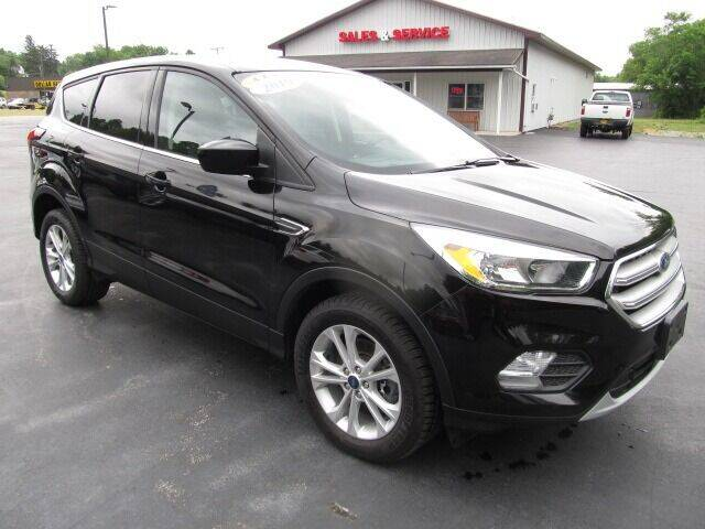 2019 Ford Escape for sale at Thompson Motors LLC in Attica NY