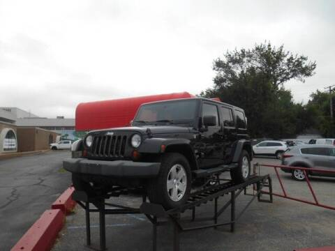 2012 Jeep Wrangler Unlimited for sale at Oak Park Auto Sales in Oak Park MI