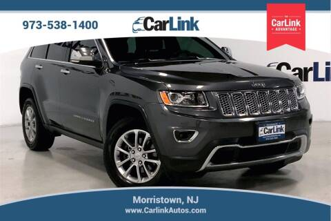 2016 Jeep Grand Cherokee for sale at CarLink in Morristown NJ