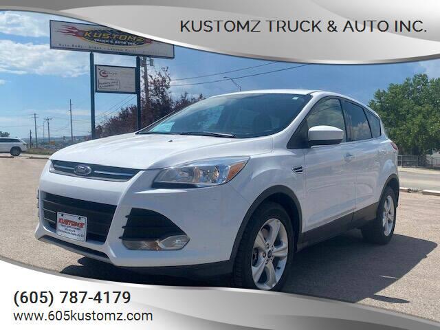 2015 Ford Escape for sale at Kustomz Truck & Auto Inc. in Rapid City SD