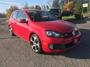 2011 Volkswagen GTI for sale at FUSION AUTO SALES in Spencerport NY