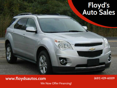 2011 Chevrolet Equinox for sale at Floyd's Auto Sales in Stillwater MN
