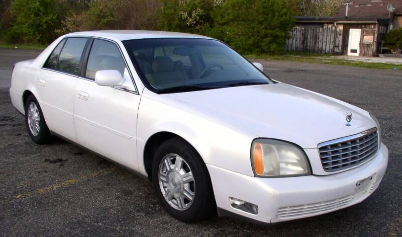 2004 Cadillac DeVille for sale at Angelo's Auto Sales in Lowellville OH