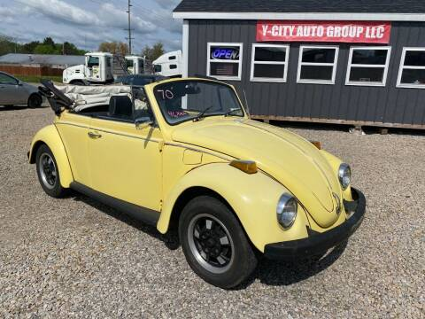 1970 Volkswagen Beetle Convertible for sale at Y City Auto Group in Zanesville OH