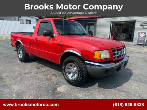 2002 Ford Ranger for sale at Brooks Motor Company in Columbia IL