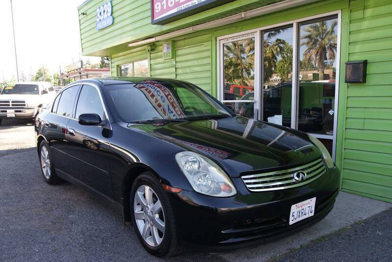 2004 Infiniti G35 for sale at Amazing Choice Autos in Sacramento CA