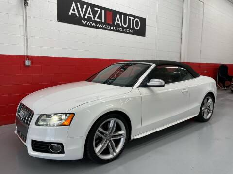 2010 Audi S5 for sale at AVAZI AUTO GROUP LLC in Gaithersburg MD