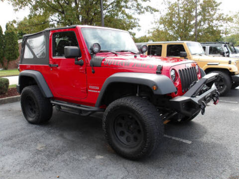 2012 Jeep Wrangler for sale at TAPP MOTORS INC in Owensboro KY