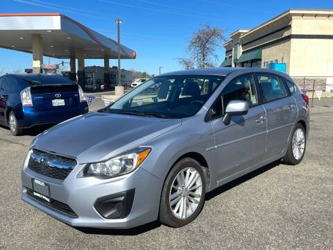 2013 Subaru Impreza for sale at Deruelle's Auto Sales in Shingle Springs CA