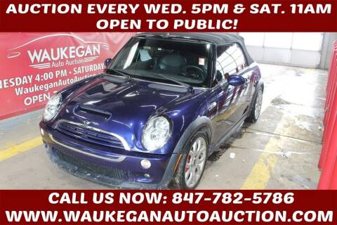 2005 MINI Cooper for sale at Waukegan Auto Auction in Waukegan IL