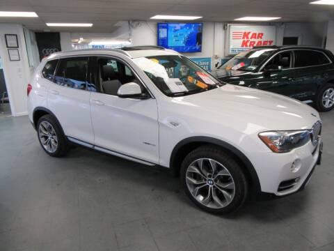 2017 BMW X3 for sale at Kar Kraft in Gilford NH