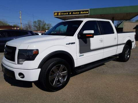 2014 Ford F-150 for sale at R & S TRUCK & AUTO SALES in Vinita OK