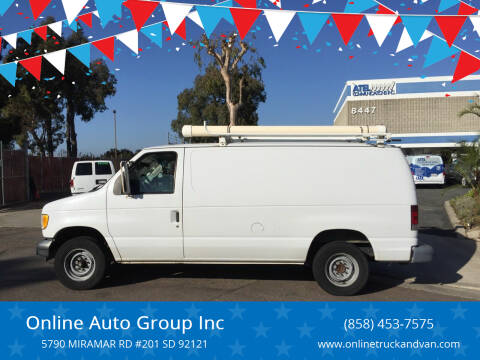 2003 Ford E-Series Cargo for sale at Online Auto Group Inc in San Diego CA
