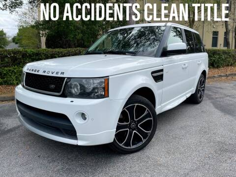 2013 Land Rover Range Rover Sport for sale at CARPORT SALES AND  LEASING in Oviedo FL