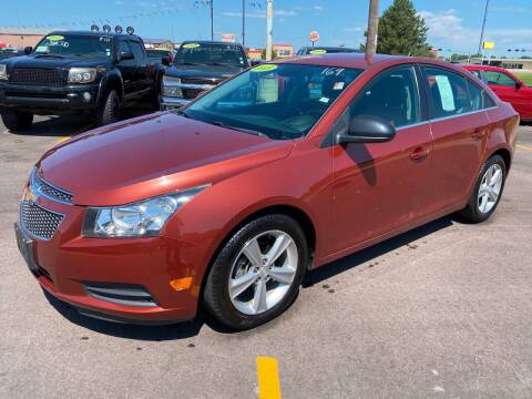 2013 Chevrolet Cruze for sale at De Anda Auto Sales in South Sioux City NE