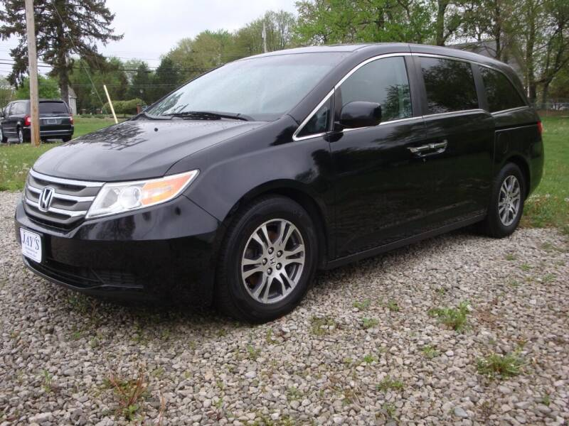 2012 Honda Odyssey for sale at Jay's Auto Sales Inc in Wadsworth OH