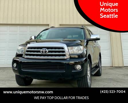 2010 Toyota Sequoia for sale at Unique Motors Seattle in Bellevue WA