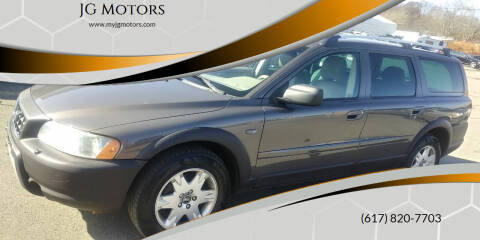 2006 Volvo XC70 for sale at JG Motors in Worcester MA