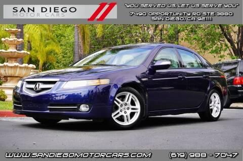 2007 Acura TL for sale at San Diego Motor Cars LLC in San Diego CA