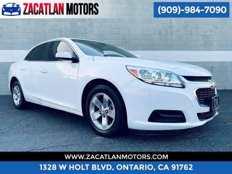 2016 Chevrolet Malibu Limited for sale at Ontario Auto Square in Ontario CA