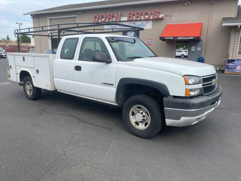 2007 Chevrolet Silverado 2500HD Classic for sale at Dorn Brothers Truck and Auto Sales in Salem OR