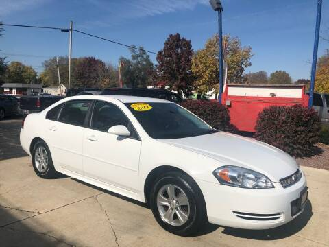 2013 Chevrolet Impala for sale at TNT Motor Sales in Oregon IL