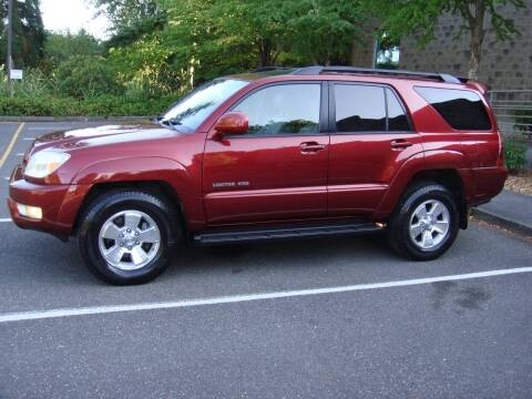 2005 Toyota 4Runner for sale at Western Auto Brokers in Lynnwood WA
