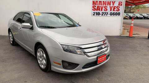 2010 Ford Fusion for sale at Manny G Motors in San Antonio TX