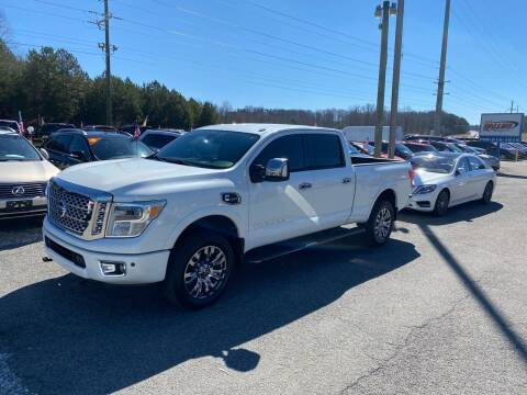 2016 Nissan Titan XD for sale at Billy Ballew Motorsports in Dawsonville GA