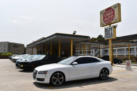 2010 Audi A5 for sale at Houston Used Auto Sales in Houston TX