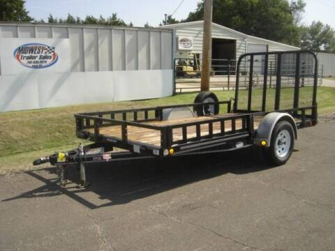 2018 77 X 12 PJ U7 for sale at Midwest Trailer Sales & Service in Agra KS