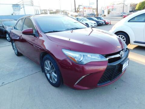 2016 Toyota Camry for sale at AMD AUTO in San Antonio TX