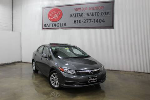 2012 Honda Civic for sale at Battaglia Auto Sales in Plymouth Meeting PA