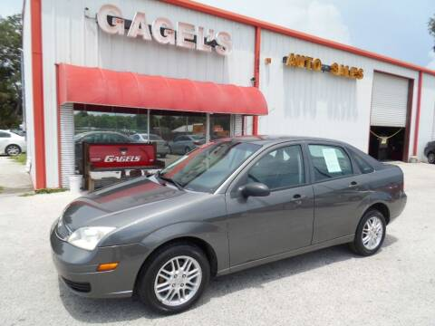 2007 Ford Focus for sale at Gagel's Auto Sales in Gibsonton FL
