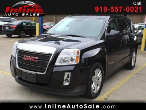 2013 GMC Terrain for sale at Inline Auto Sales in Fuquay Varina NC