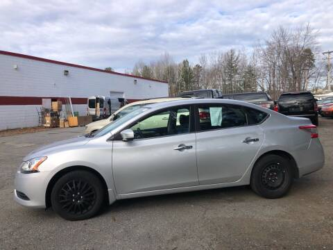 2015 Nissan Sentra for sale at Top Line Import of Methuen in Methuen MA