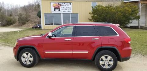 2011 Jeep Grand Cherokee for sale at SCHACHT MOTOR CO in Decorah IA