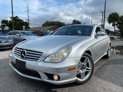 2007 Mercedes-Benz CLS for sale at CHECK  AUTO INC. in Tampa FL