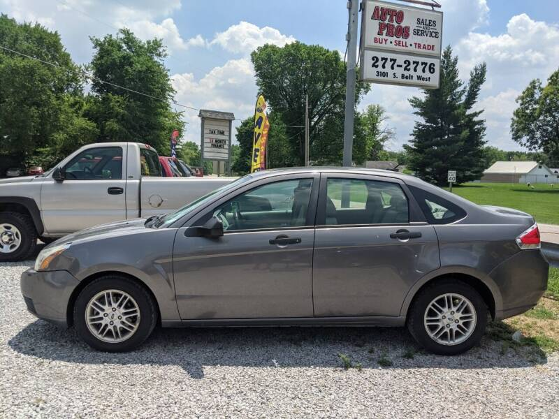 2009 Ford Focus for sale at AUTO PROS SALES AND SERVICE in Belleville IL
