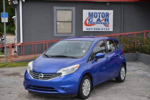 2015 Nissan Versa Note for sale at Motor Car Concepts II - Kirkman Location in Orlando FL