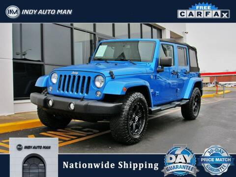 2015 Jeep Wrangler Unlimited for sale at INDY AUTO MAN in Indianapolis IN