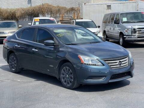 2013 Nissan Sentra for sale at Brown & Brown Wholesale in Mesa AZ